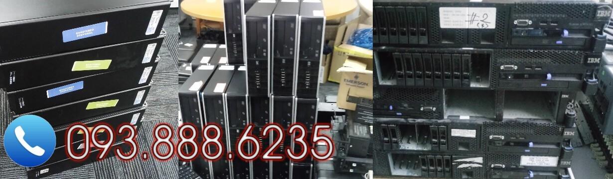 Thu mua máy bộ Dell - HP