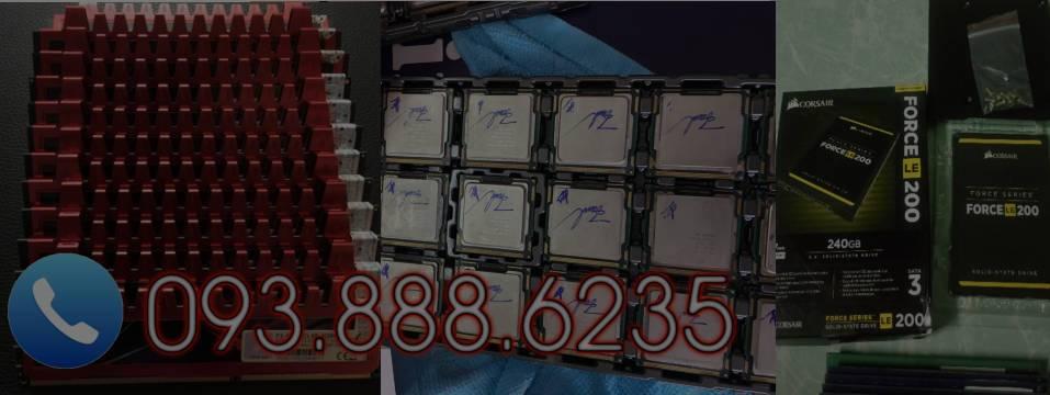 Thu mua linh kiện máy tính cũ (ram, hdd, cpu, ssd...)