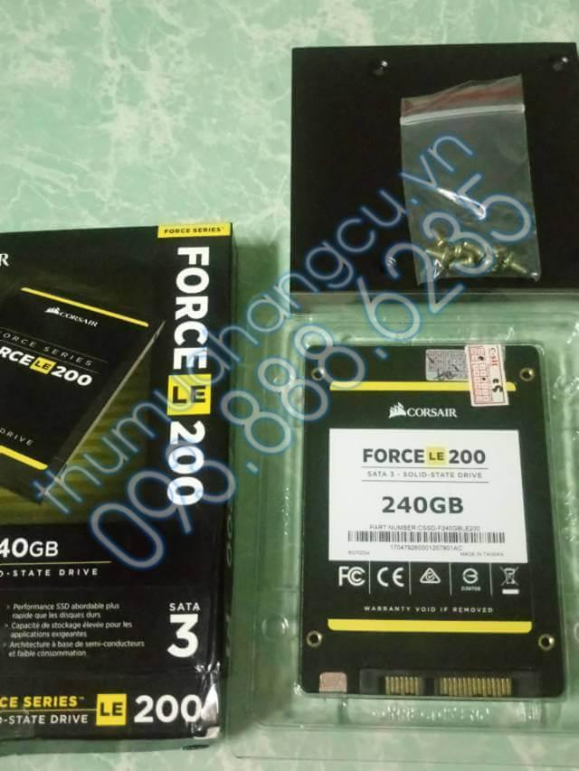 Thu mua ổ cứng SSD Corsair FORCE LE 200 cũ