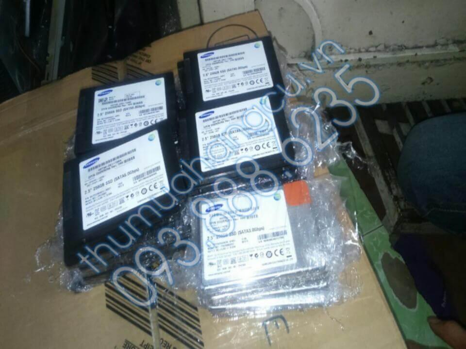 Thu mua ổ cứng SSD Samsung cũ