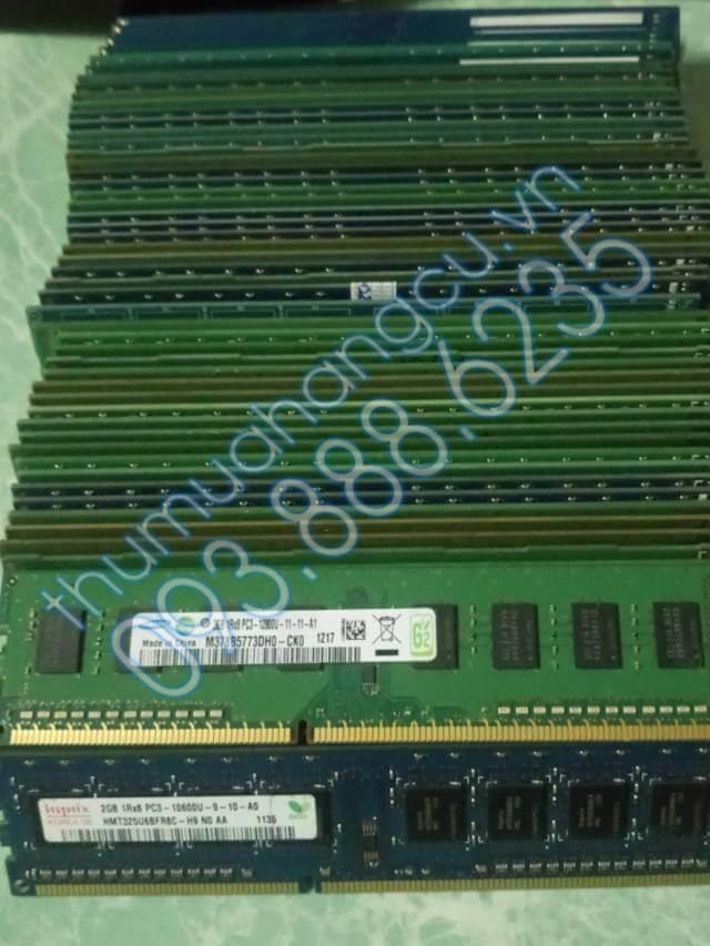 Thu mua ram pc DDR3 cũ